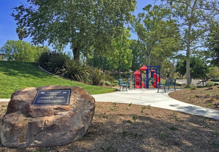 Parks in Mission Viejo Doria Park Aegean Hills by Jackie Gibbins