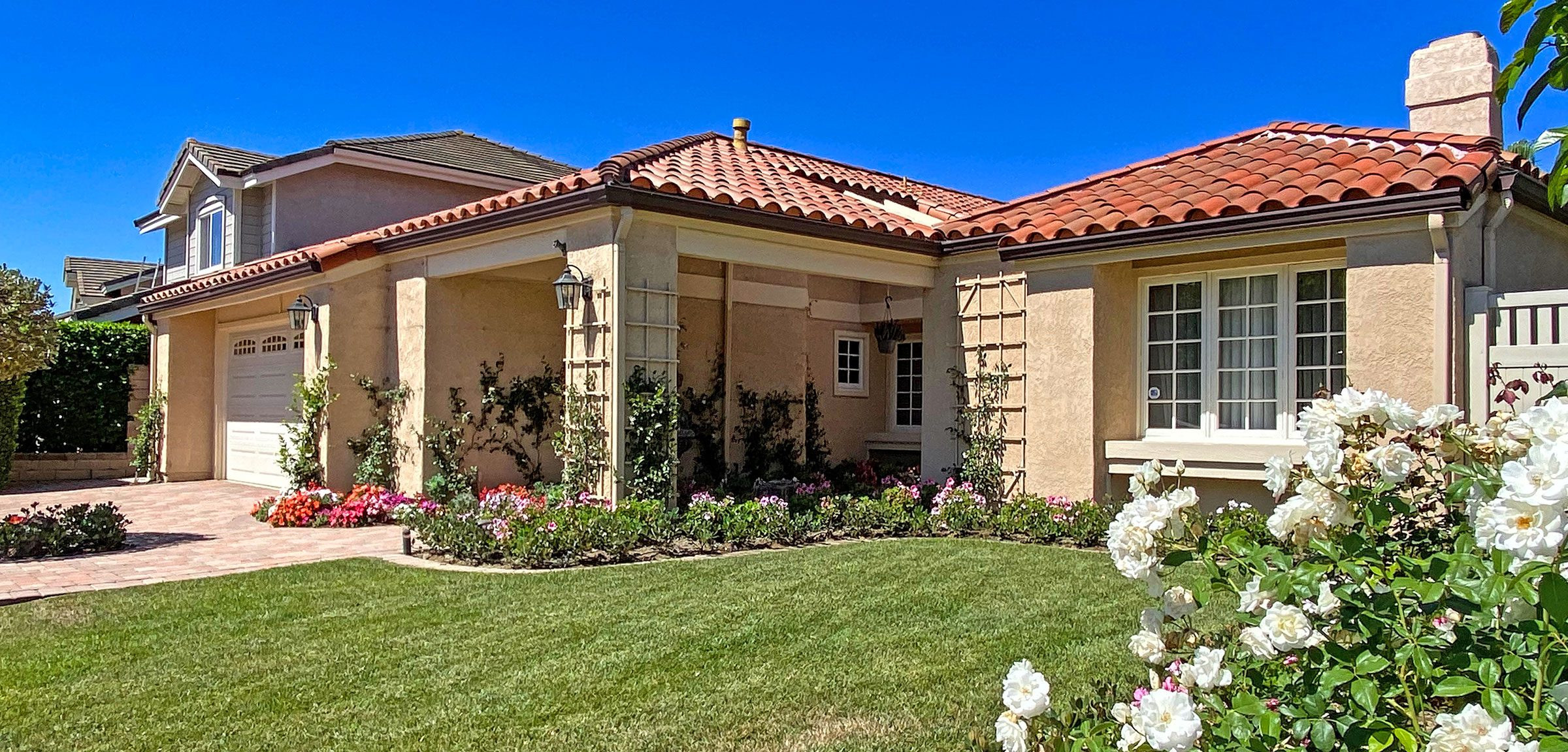 Single Level Homes Over 55 in Mission Viejo Casta del Sol and Palmia