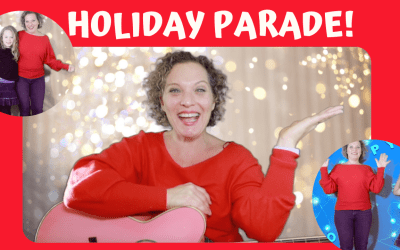 HOLIDAY PARADE!! A *NEW* Preschool Holiday Movement Song & Video!