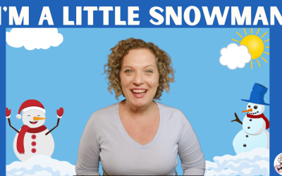 HAPPY NEW YEAR! NEW VIDEO! I'm A Little Snowman – Preschool Movement Song