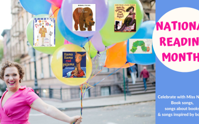 National Reading Month + Sing with Suzi!