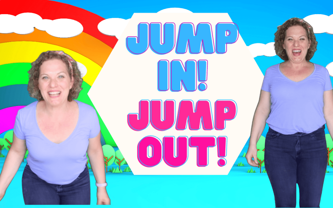 Jump In, Jump Out, Wiggle All About!  Kids Dance Song