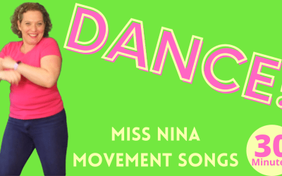 PRESCHOOL DANCE PARTY! 12 Preschool Movement Dance Songs