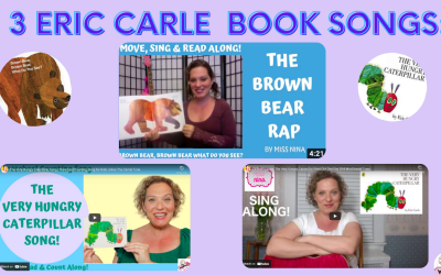 Eric Carle Book Songs – A Tribute!