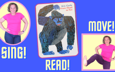 FROM HEAD TO TOE SONG  | Eric Carle Read, Sing & Move Along!