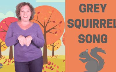 Fall Song for Preschoolers | Grey Squirrel