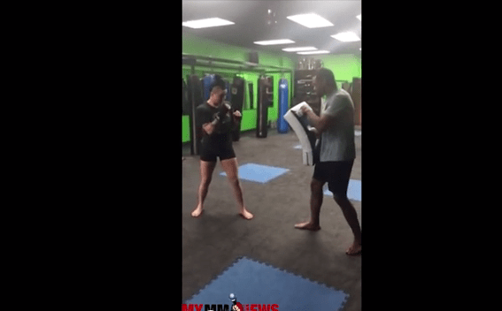 Technique of the Week – Ashlee Evans-Smith – Setup for Spinning Back Kick