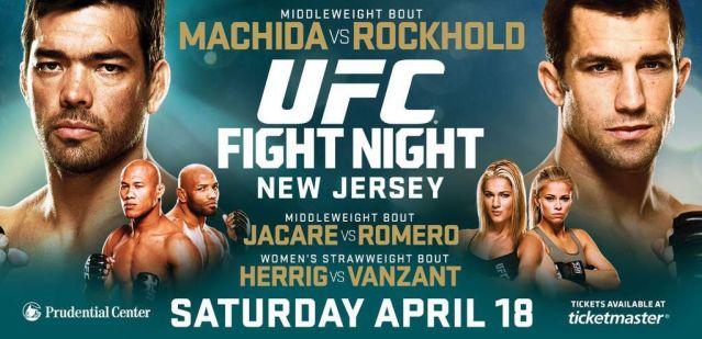 UFC on FOX 15 results – Machida vs Rockhold