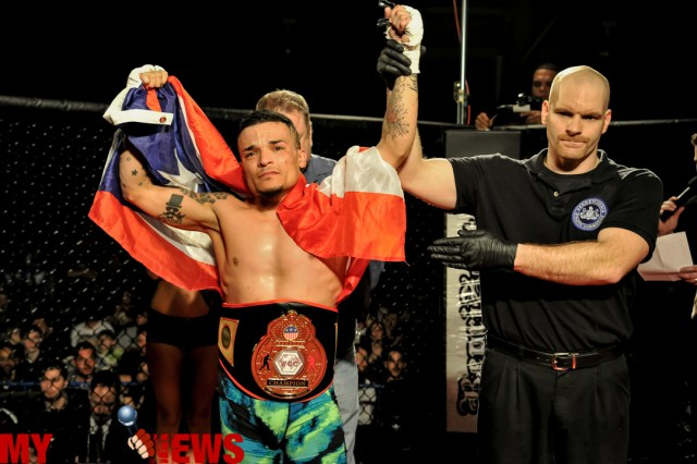 Mike Serrano's dream coming true, gearing for pro debut at WCC 19