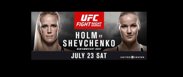 UFC on FOX 20: Holm vs Shevchenko On Sale Friday