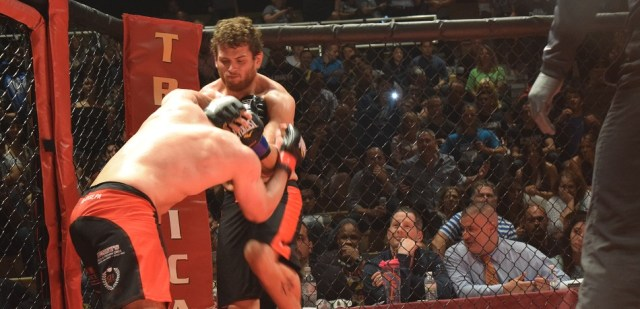 'The Viking' Eric Roncoroni looks for another finish at ROC 56