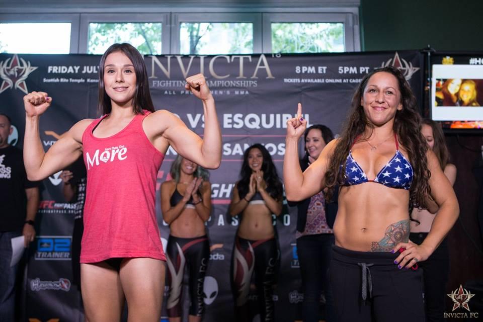 Invicta FC 18 - Alexa Grasso vs Jodie Esquibel