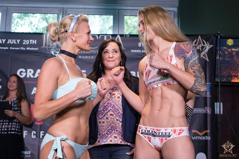 Cindy Dandois vs Jessamyn Duke - Invicta FC 18