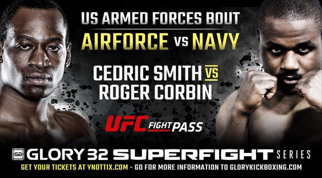 US Air Force vs. US Navy Armed Forces Bout Added to GLORY 32
