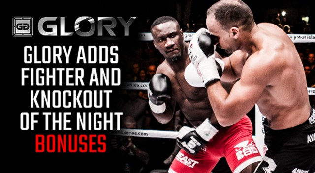 GLORY to debut fight night bonuses at Virginia event