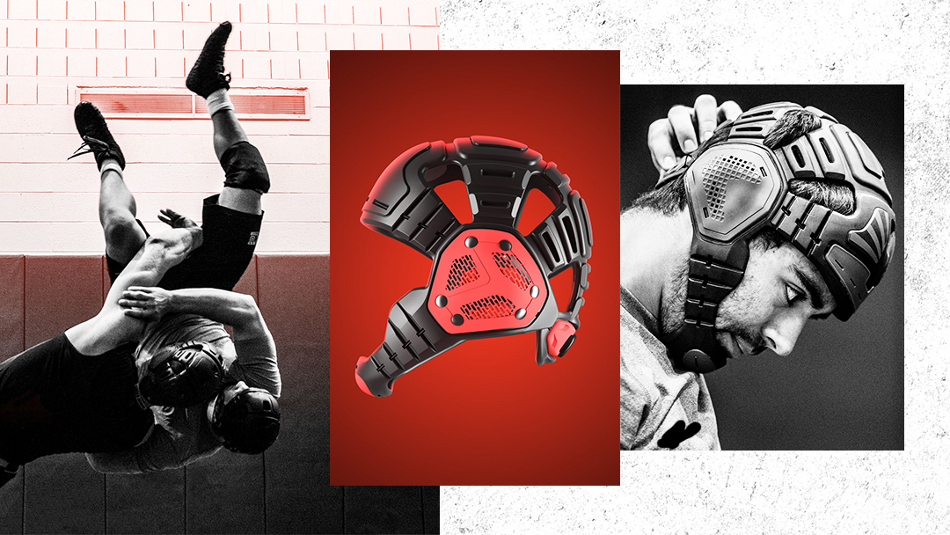 BATS-TOI wrestling helmet