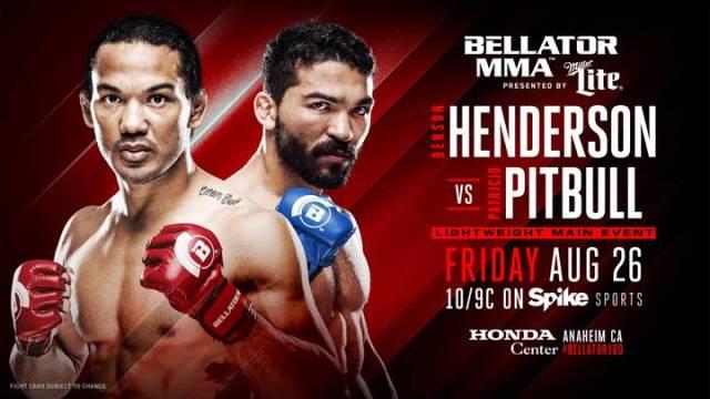 Benson Henderson vs Patricio Pitbull