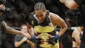 Amanda Nunes is the UFC's first openly gay champion