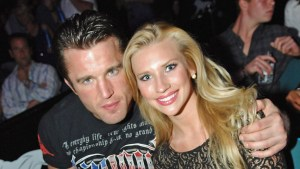 Chael Sonnen and wife, Brittany Smith