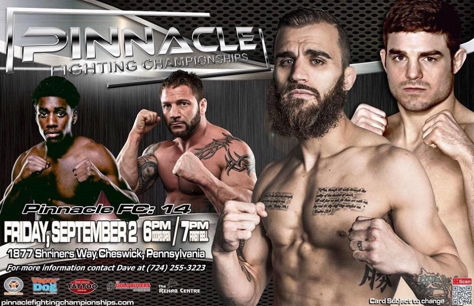 Dominic Mazzotta and Mark Cherico headline Pinnacle FC 14