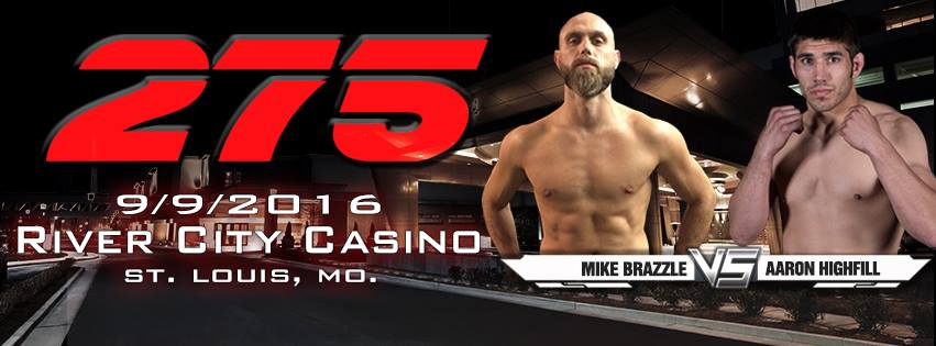Shamrock FC 275 - Mike Brazzle vs Aaron Highfill
