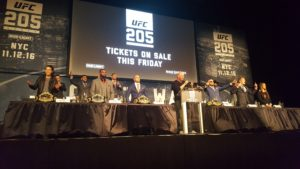 UFC 205 Press Conference at MSG