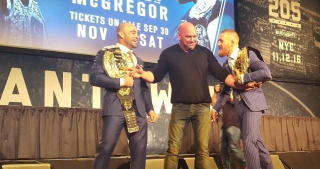 Video: UFC 205 Press Conference Post-Mortem