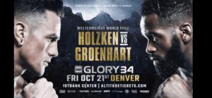 Nieky Holzken vs. Murthel Groenhart III Headlines GLORY 34 Denver