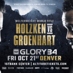 Nieky Holzken vs. Murthel Groenhart III Headlines GLORY 34 Denver