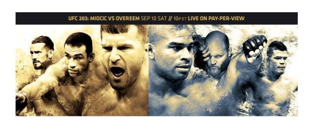 UFC 203 Results:  Miocic vs Overeem, CM Punk Debut