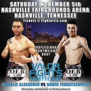 Knee Injury Forces Valor Fights 38 Main Event Change