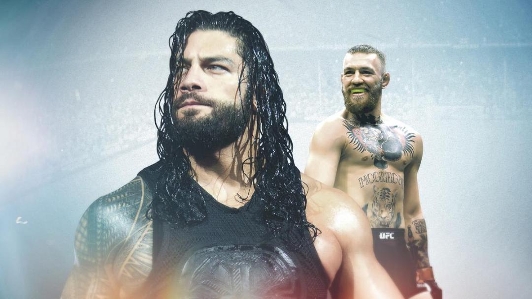 WWE teaches dream matches; Conor McGregor vs Roman Reigns