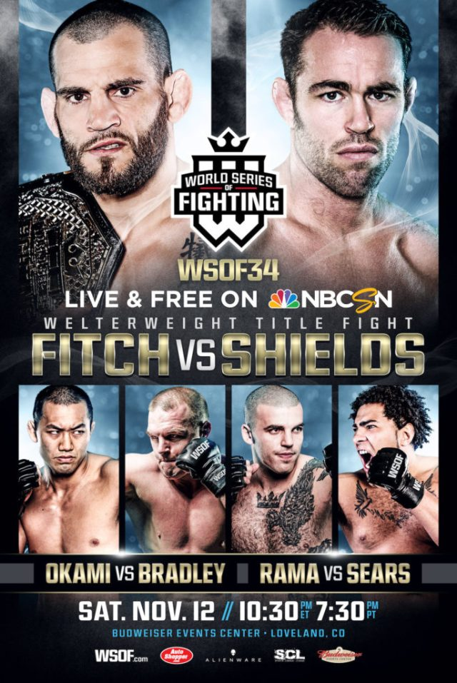 """WSOF 34: """"Who's The Toughest?"""" Kicks Off With Four Military Vets In Action"""