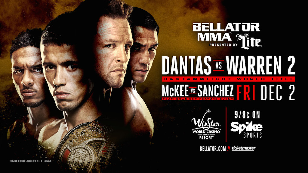 BACK 2 BACK - Bellator Announces Two Consecutive Nights of Action Dec. 2 & 3