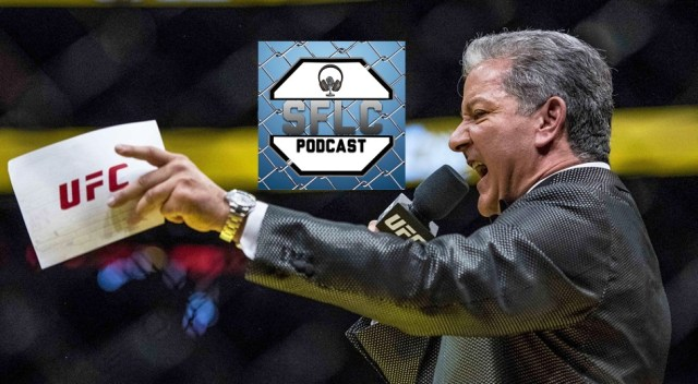 Bruce Buffer on SFLC Podcast