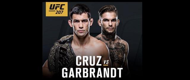 Cody Garbrandt gets title shot against Cruz at UFC 207