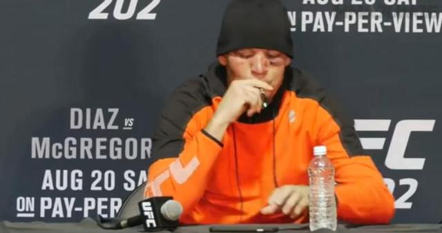 Nate Diaz gets warning for vaping cannabidiol at UFC 202 post fight conference