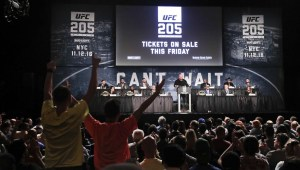 23 years to day after UFC 1, UFC 205 in world's most famous arena