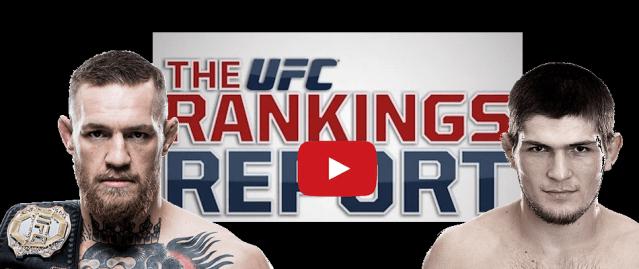 UFC Rankings Update:  Miesha Tate Drops 9 Spots, McGregor #2 P4P