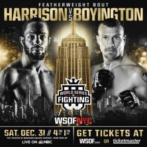 Titan FC champ Andre Harrison signs with World Series of Fighting