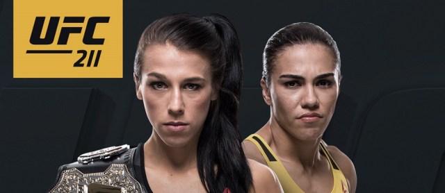 Joanna Jedrzejczyk vs. Jessica Andrade official for UFC 211