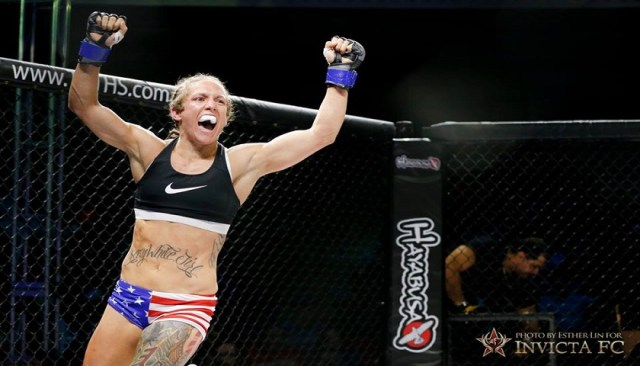 """.50 Kal"" Kalyn Holliday: I want Invicta to trust I'm a reliable and available fighter"