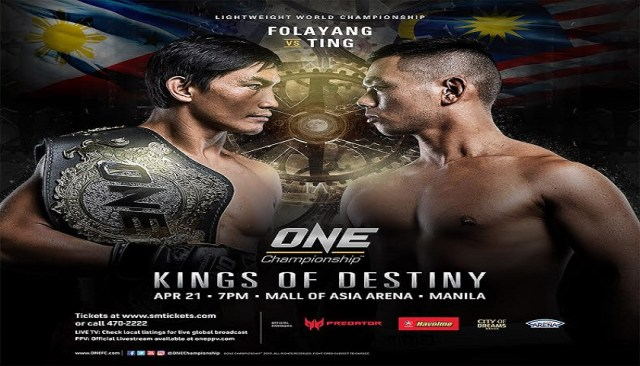 Stacked card announced for ONE:  Kings of Destiny in Manila