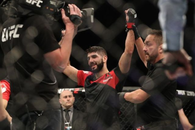 After a successful UFC debut, Aiemann Zahabi 'ready for anything' Sean Shelby throws his way