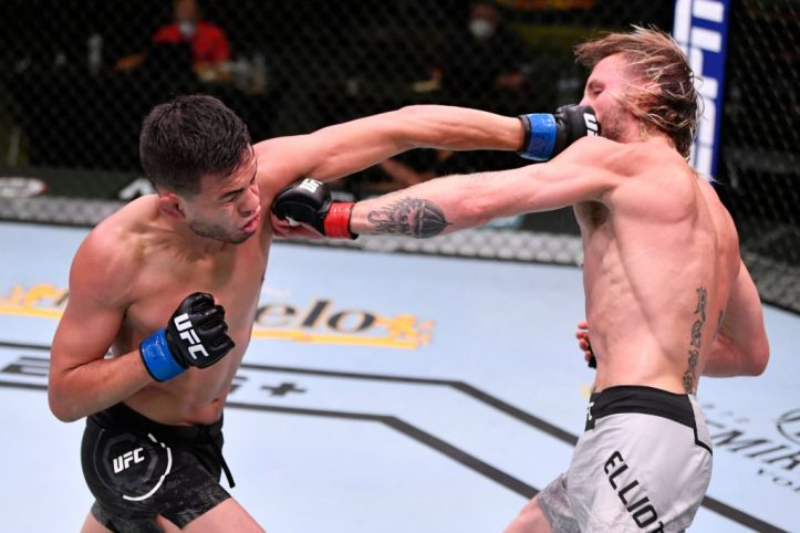 It's hard not to love Brandon Royval, the young man brings the heat on the feet every fight   UFC on ESPN 29