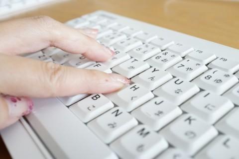 パンタグラフキーボードの打鍵感