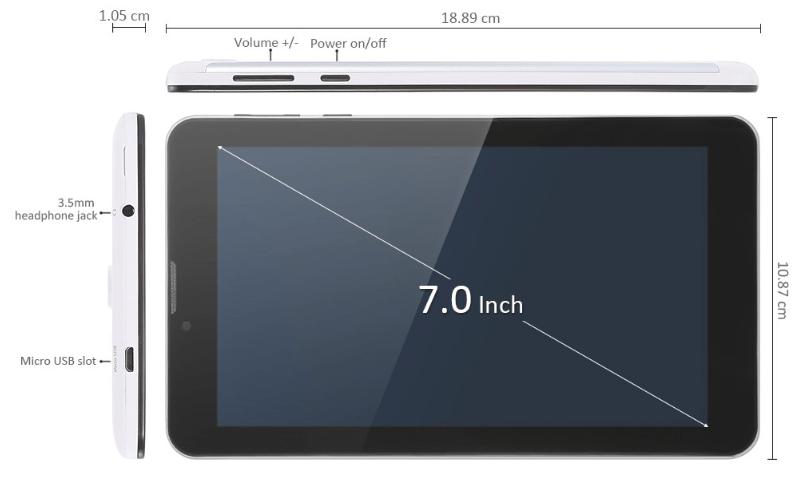 割引クーポンで5千円以下!Teclast X70 3Gシムが入れられるタブレット