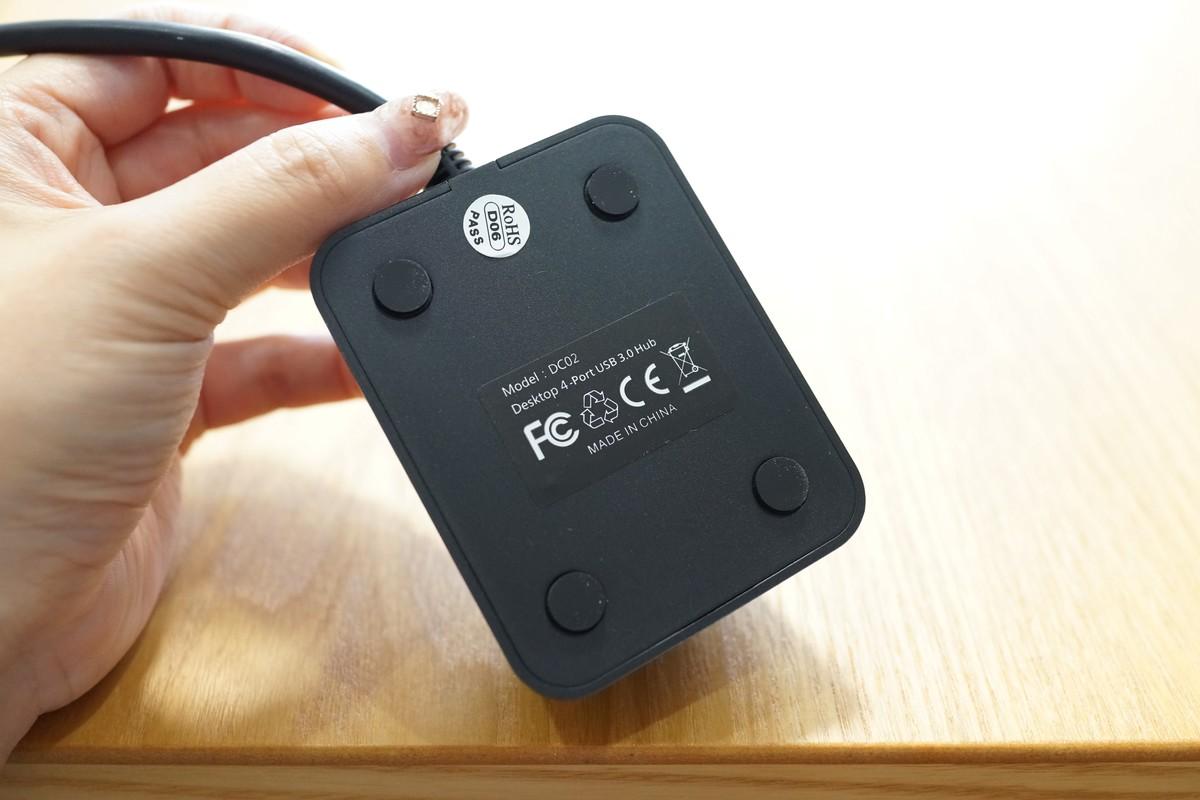 dodocool USB3.0 4ポートUSBハブ レビュー 認証マーク