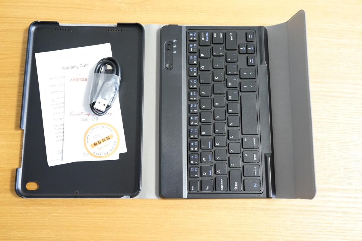 Xiaomi Mipad 2用 Bluetoothキーボード&ケースレビュー 開封の儀 参考写真2