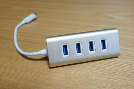 【25%OFFクーポン有】dodocool USB3.0 TYPE-C 4ポートUSBハブレビュー